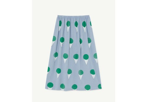 The Animals Observatory Ladybugkids Skirt Blue Icecream