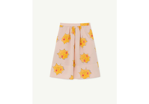 The Animals Observatory Sow Kids Skirt Pink Suns
