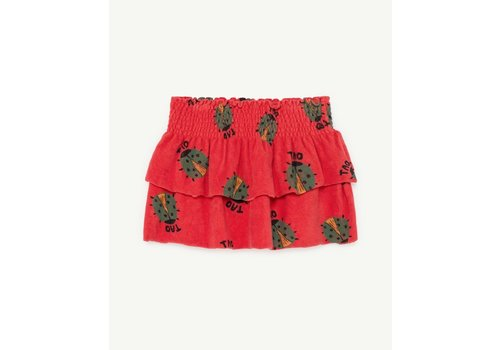 The Animals Observatory Wombat Kids Skirt Red Ladybug