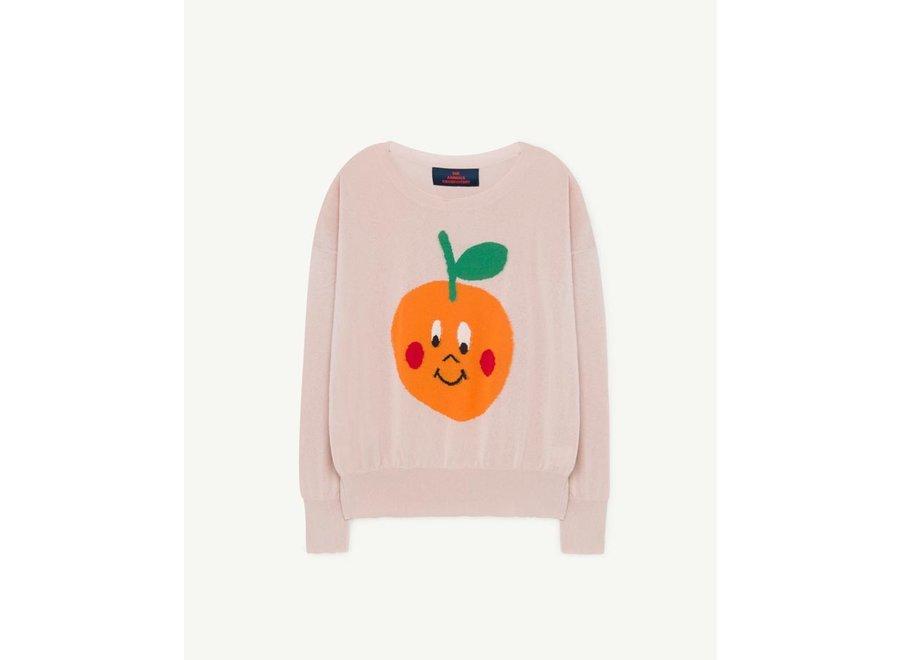 Fruit Bull Kids Sweater Soft Pink