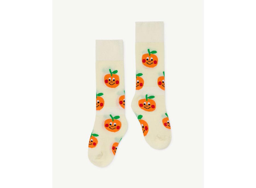 Hen Kids Socks Raw White