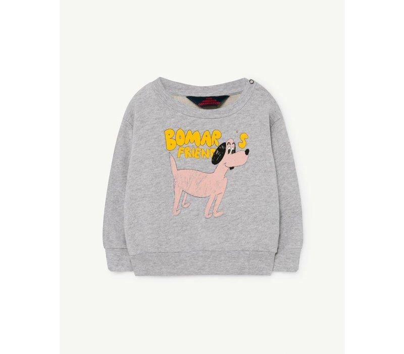 Bear Baby Sweatshirt Grey Dog 6M