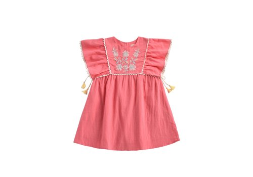 Louise Misha Dress Khalo Strawberry