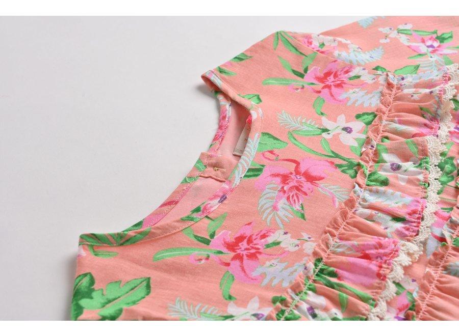 Blouse Campeche Sienna Flamingo