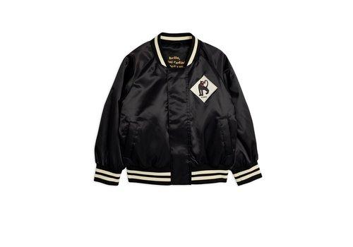 Mini Rodini Panther baseball jacket Black