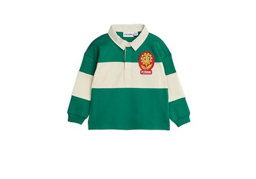 Mini Rodini Rugby shirt -LE- Green