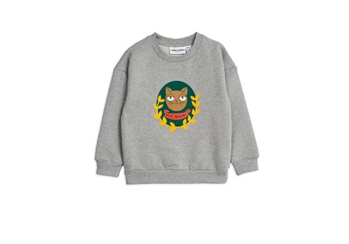Mini Rodini Badge SP sweatshirt Grey melange