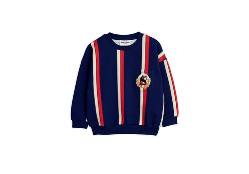 Mini Rodini Stripe sweatshirt Blue