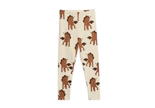 Mini Rodini Unicorns aop leggings Offwhite