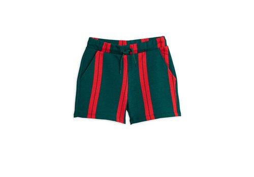 Mini Rodini Stripe sweatshorts Green