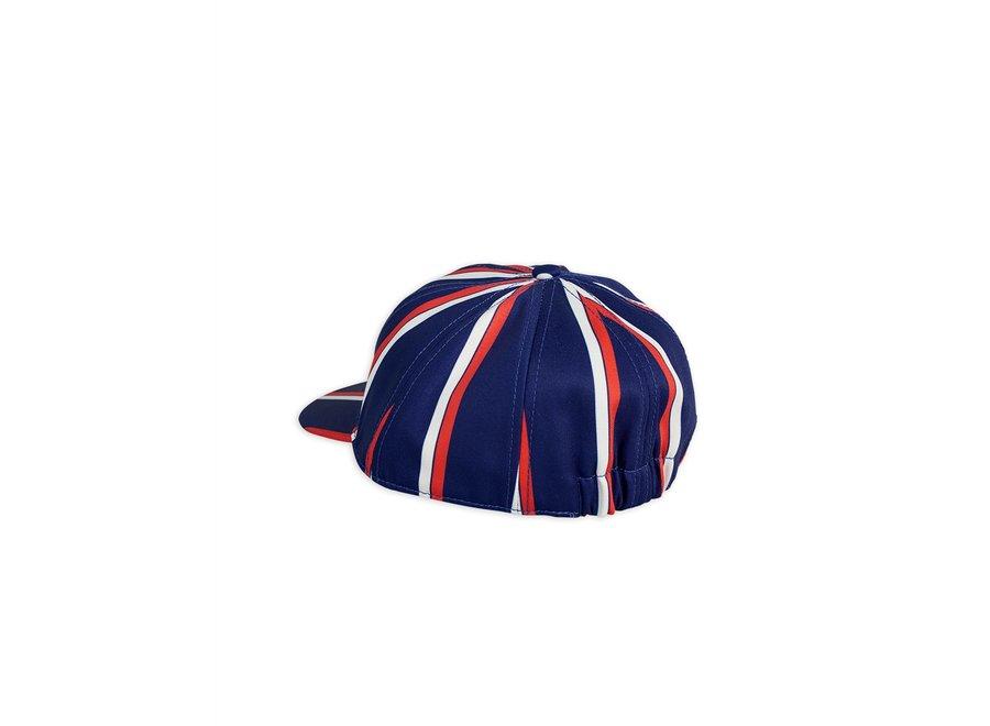 Badge cap Blue