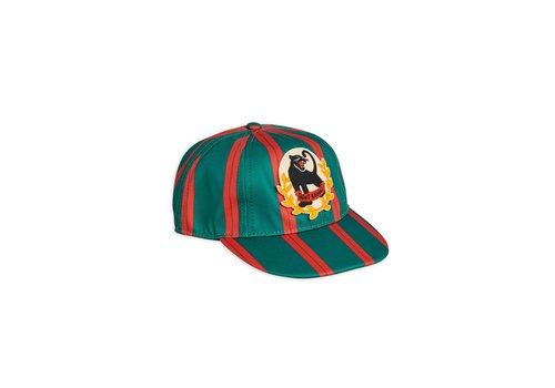 Mini Rodini Badge cap Green