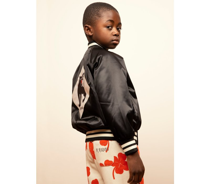 Panther baseball jacket Black