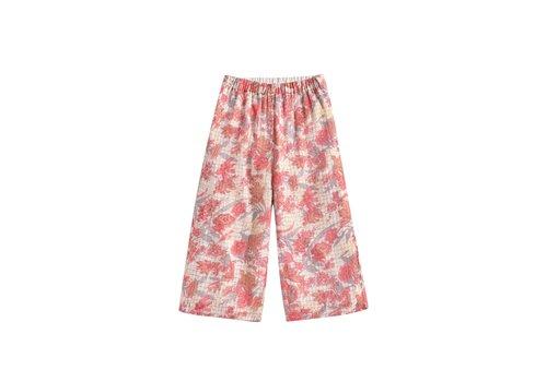 Louise Misha Pants Flor Pink Flowers