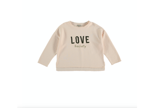The New Society LOVE BABY Sweat SHELL