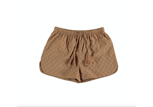 The New Society PECHÉ SHORT CARAMEL