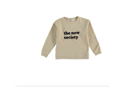 The New Society THE NEW SOCIETY_KIDS SWEAT NATURAL
