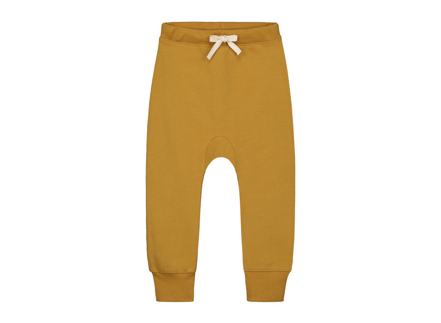 Baggy Pants Seamless Mustard