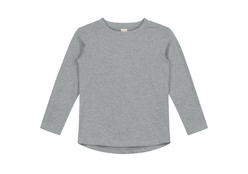 Gray Label L/S Tee  Grey Melange
