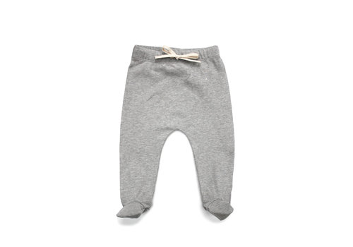 Gray Label Baby Footies  Grey Melange