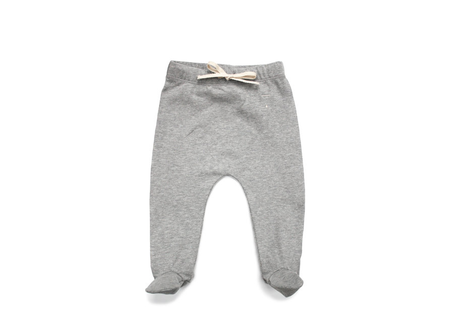 Baby Footies  Grey Melange