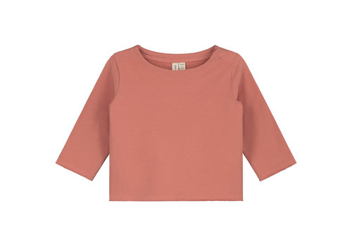 Gray Label Baby L/S Tee  Faded Red