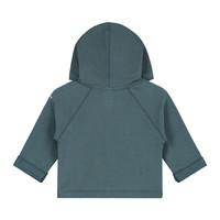 Baby Hooded Cardigan  Blue Grey