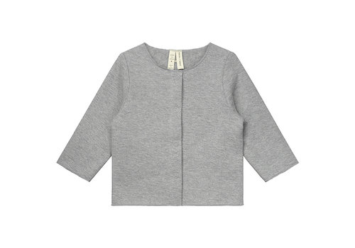 Gray Label Baby Cardigan  Grey Melange