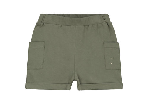Gray Label Relaxed Pocket Shorts  Moss