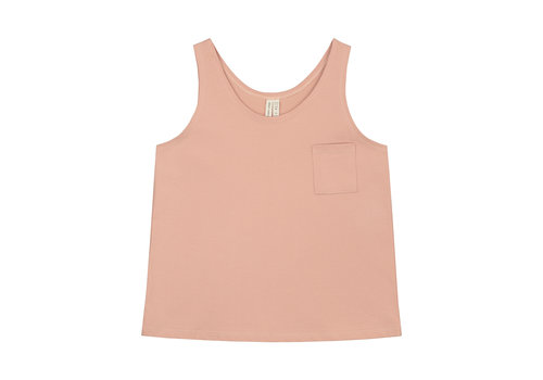 Gray Label Pocket Tank Top  Rustic Clay