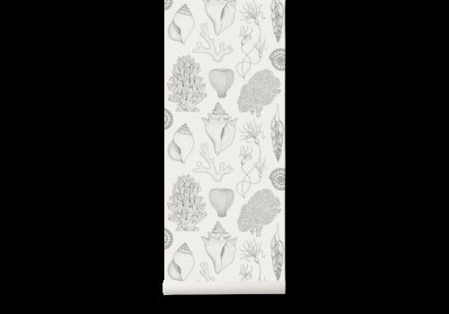 Ferm Living Katie Scott Wallpaper - Shells Off-White