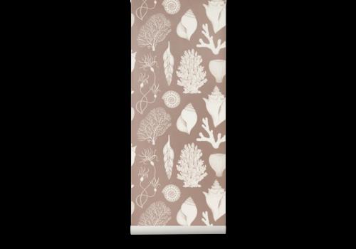 Ferm Living Katie Scott Wallpaper - Shells Rose