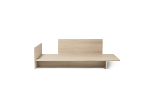 Ferm Living Kona Bed Natural Oak Veneer