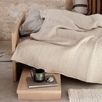 Kona Bed Natural Oak Veneer