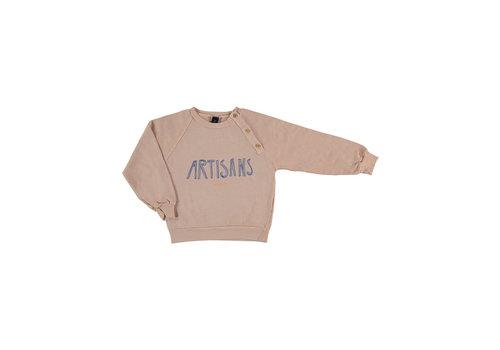 Bonmot organic Sweatshirt sailor artisans dusty coral