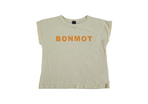 Bonmot organic T-shirt summer bonmot ivory