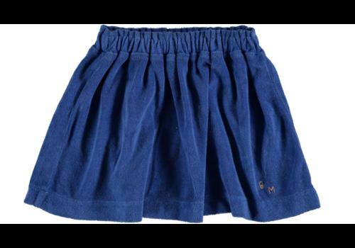 Bonmot organic Mini skirt terry bm fresh blue