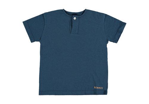 Bonmot organic Henley t-shirt bonmot embro Navy