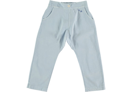Bonmot organic Baggy trouser bm light blue