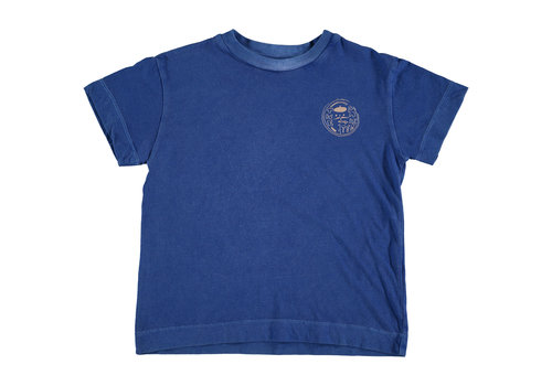 Bonmot organic T-shirt classic natural things fresh blue