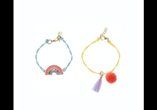 Rockahula Kids Sherbet Dip Rainbow Bracelet Set