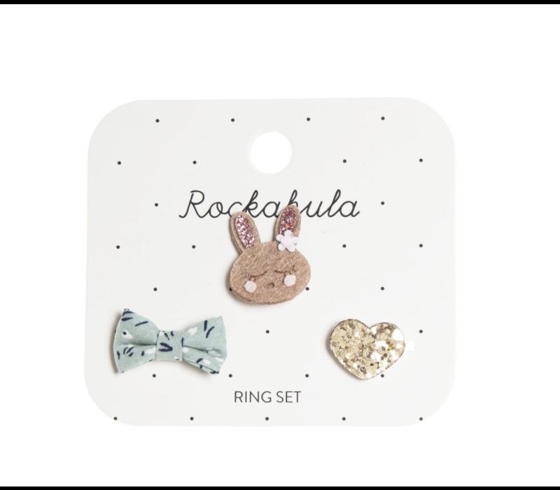 Rosie Rabbit Ring Set