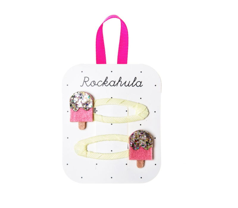 Ice Lolly Glitter Clips