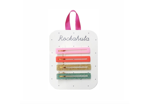 Rockahula Kids Retro Bar Clips Multi