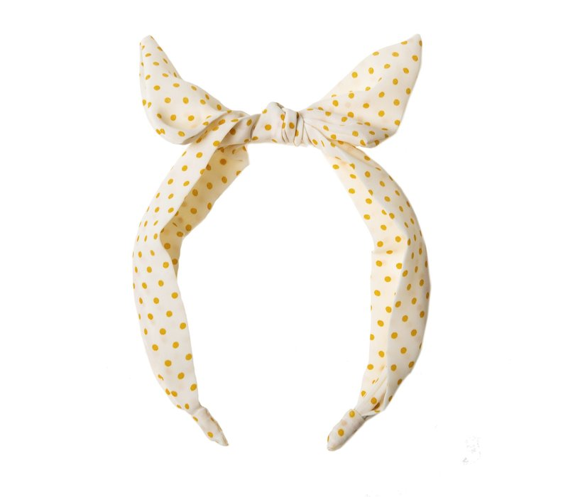 Spotty Tie Head Band