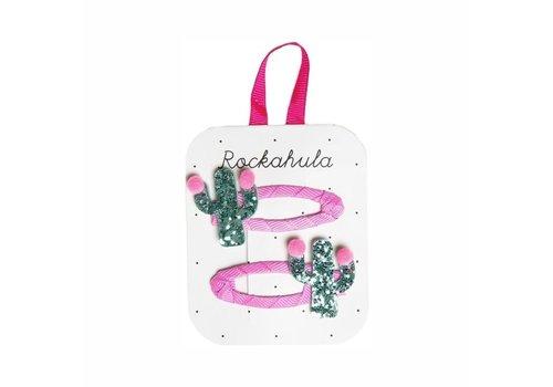 Rockahula Kids Pom Pom Cactus Glitter Clips