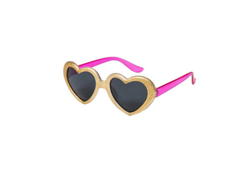 Rockahula Kids Glitter Heart Sunglasses