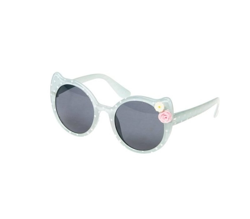 Spotty Cat Sunglasses - Blue