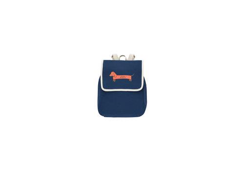 Tiny Cottons Il Bassotto Backpack Light Navy/Brick