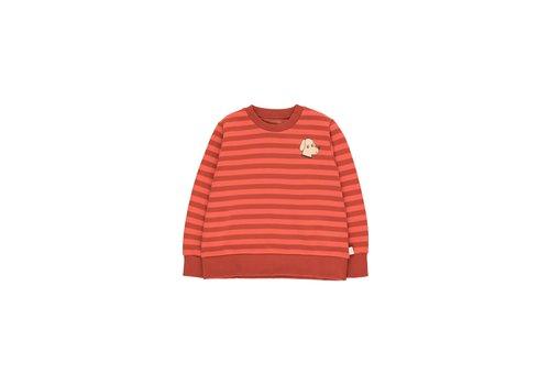 Tiny Cottons Tiny Dog Sweatshirt Dark Brown/Red